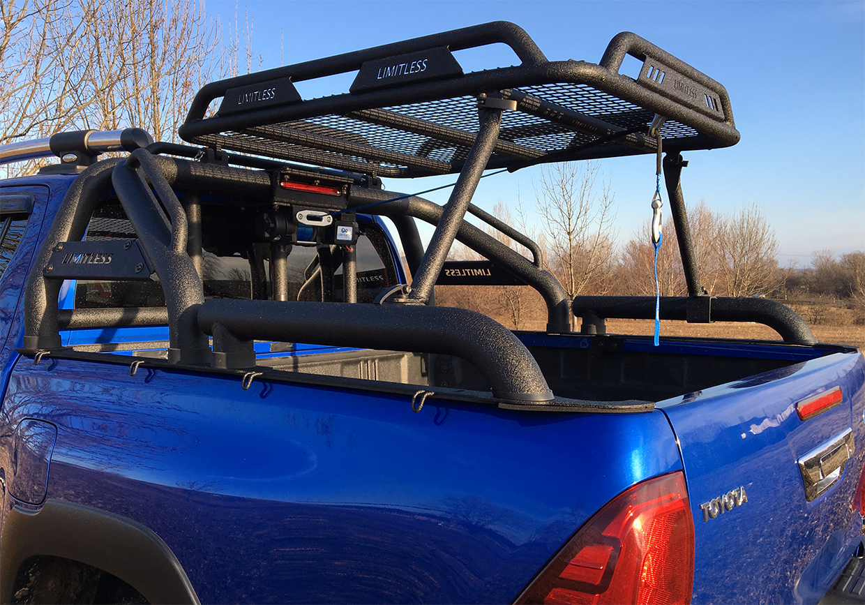 limitless accessories off road limitless rocky roof rack for rollbar. Black Bedroom Furniture Sets. Home Design Ideas